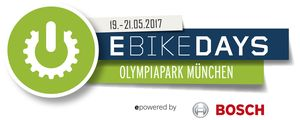 E Bike Days Logo mit Partner Bosch