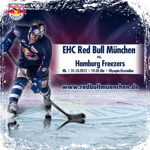 EHC Red Bull München vs. Hamburg Freezers