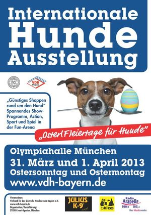 Internationale Hundeausstellung 2013