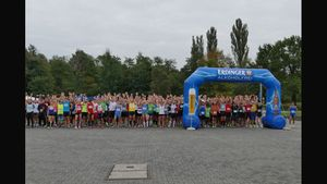 Oktoberfestrun with Swimrun