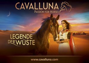 CAVALLUNA - Legend of the desert