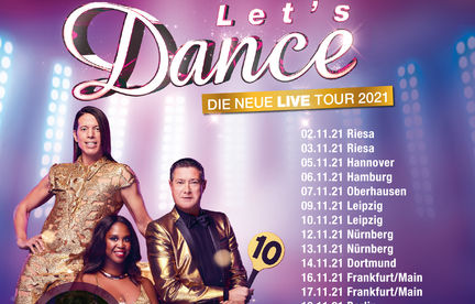 Lets Dance! Let's Dance - Live-Tour 2021