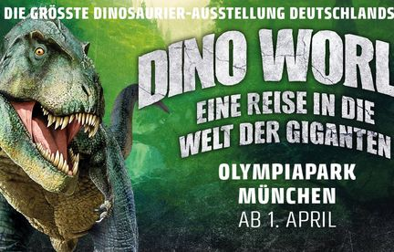 DINO WORLD - a trip in the world of giants