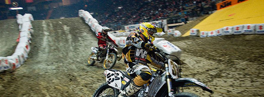 Motocross in der Olympiahalle